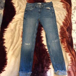 Zara NWOT Jeans Midrise